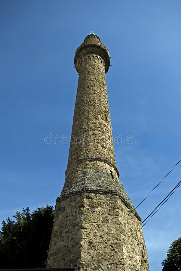 Arasta-Minarett, Prizren, Kosovo lizenzfreie stockfotografie