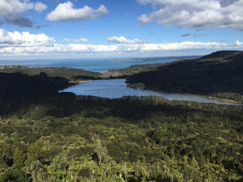 Arataki regionalności park - Auckland zdjęcie royalty free