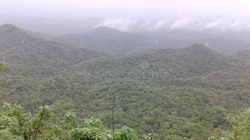 Aravli山 免版税库存图片