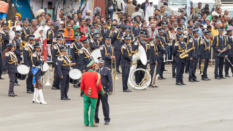 Arbegnoch Qen - de Dag van Patriotten royalty-vrije stock foto's