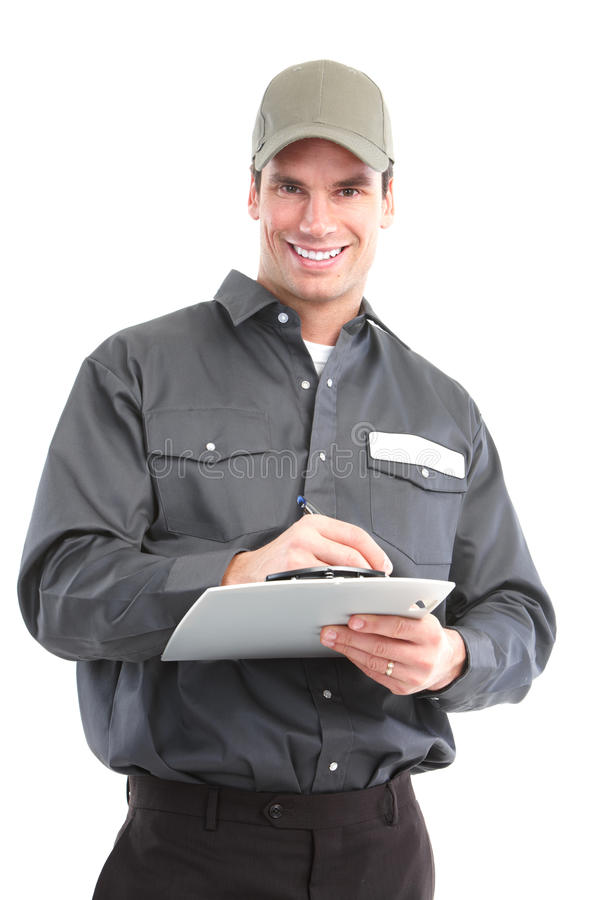 Arbeider royalty-vrije stock foto