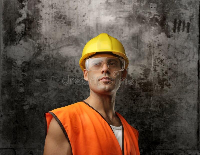 Arbeider stock foto