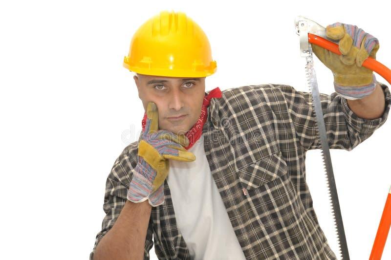 Arbeider stock afbeeldingen