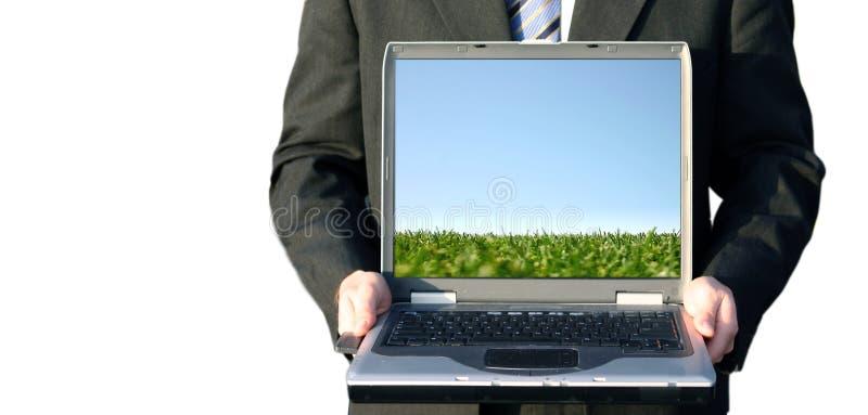 Download Arbeit des Geschäftsmannes stockbild. Bild von firma, schreiben - 42637