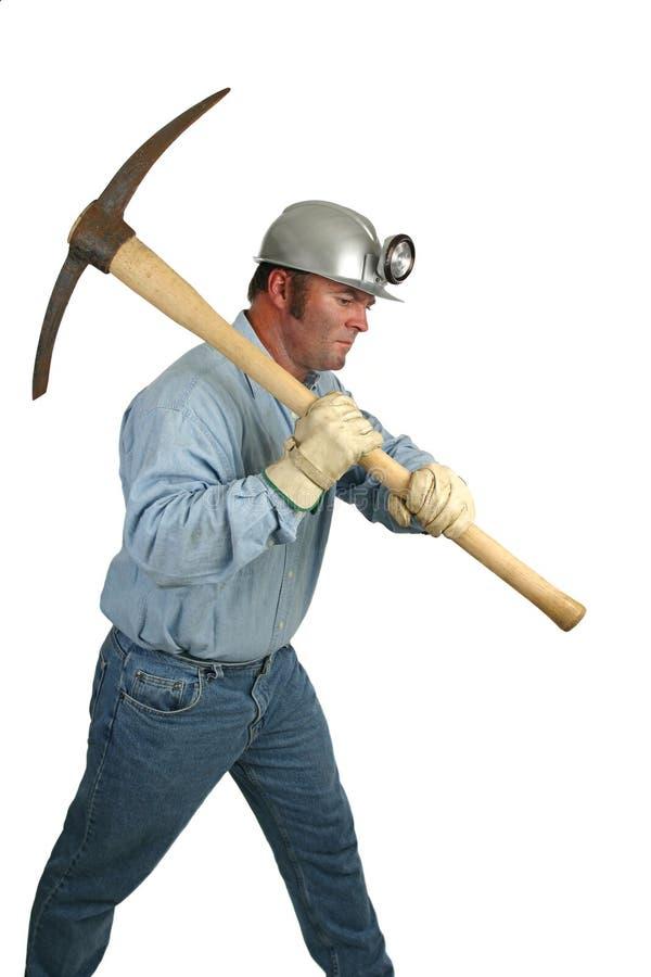 Arbeiten in den Gruben lizenzfreies stockfoto