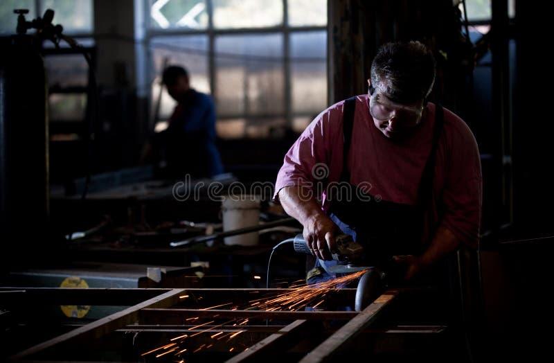 Arbeiter stockfoto