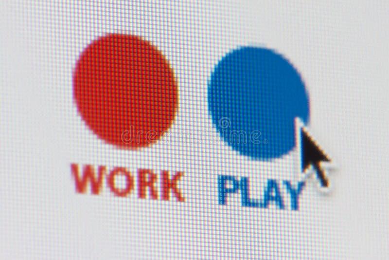 Arbeits-Wahl stockbilder