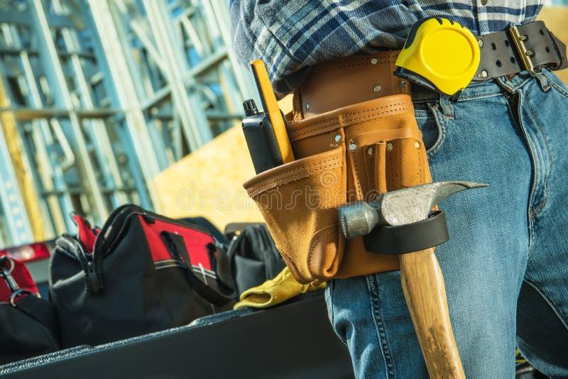 Arbeitsbauunternehmer lizenzfreie stockbilder