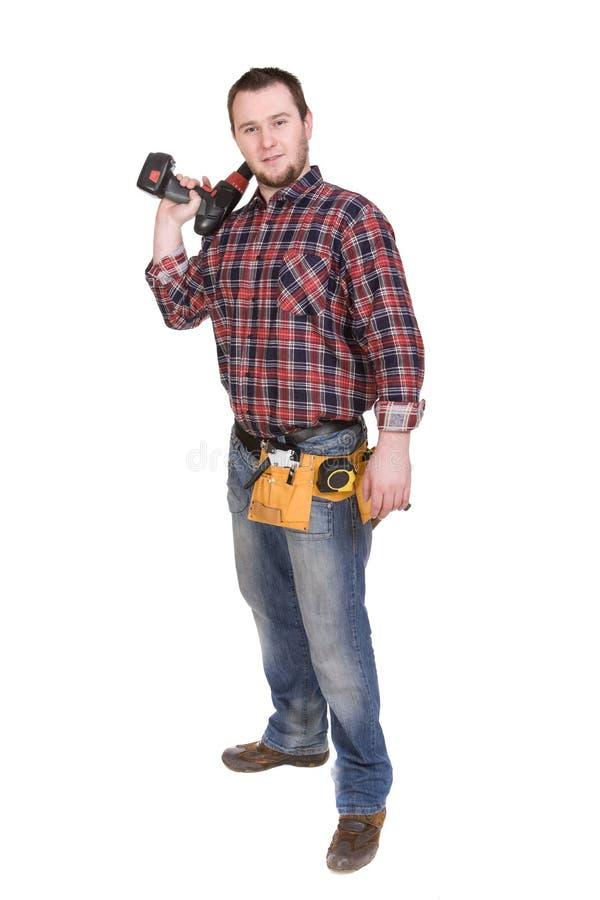 Download Arbeitskraft stockfoto. Bild von mann, freundlich, klempner - 9093096