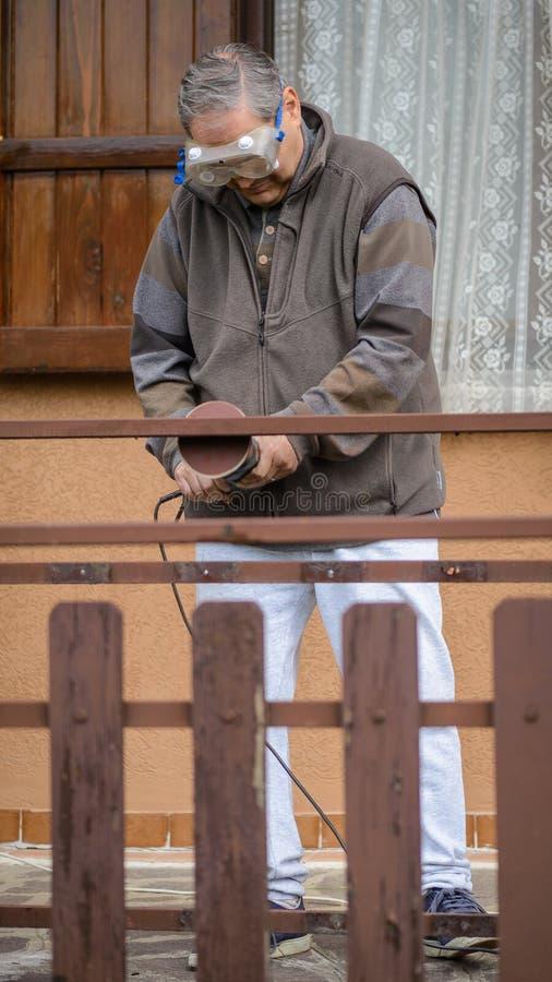 Arbeitskraft in der Aktion stockfotografie