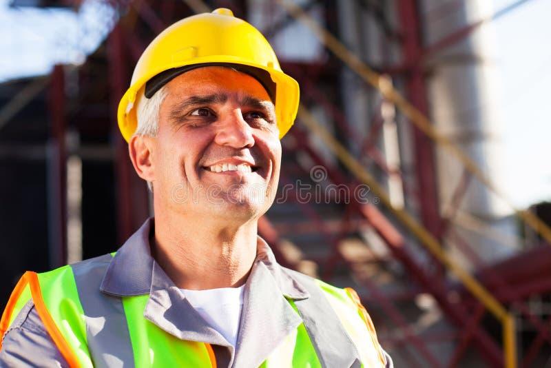 Arbeitskraft der chemischen Industrie stockbilder