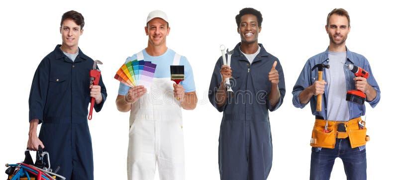 Arbeitskraftgruppe stockfotos