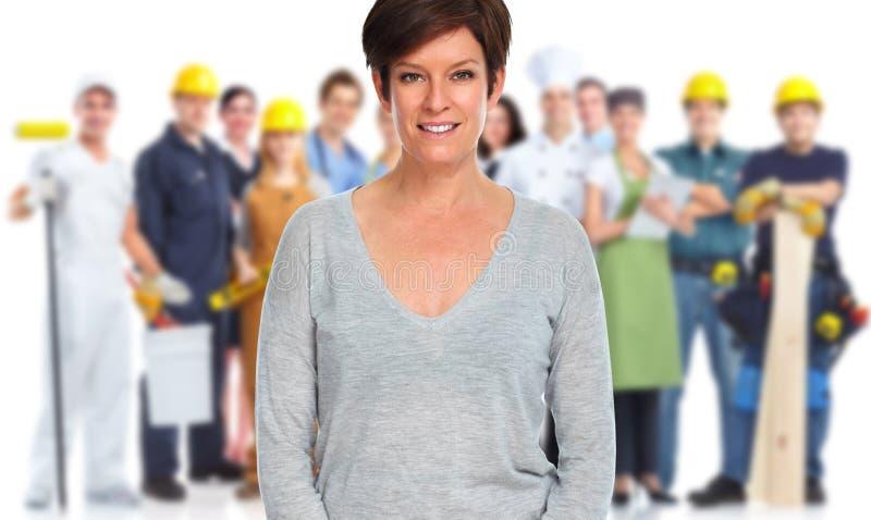 Arbeitskraftgruppe lizenzfreie stockbilder