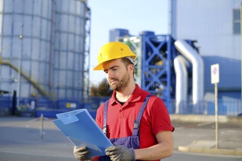 Arbeitskraftqualitätskontrollkontrolle stockfotografie