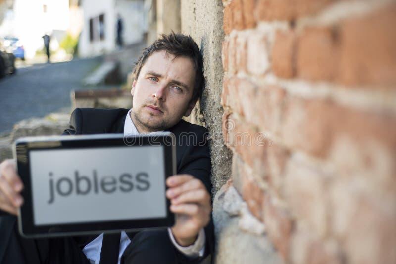 Arbeitslos lizenzfreies stockbild