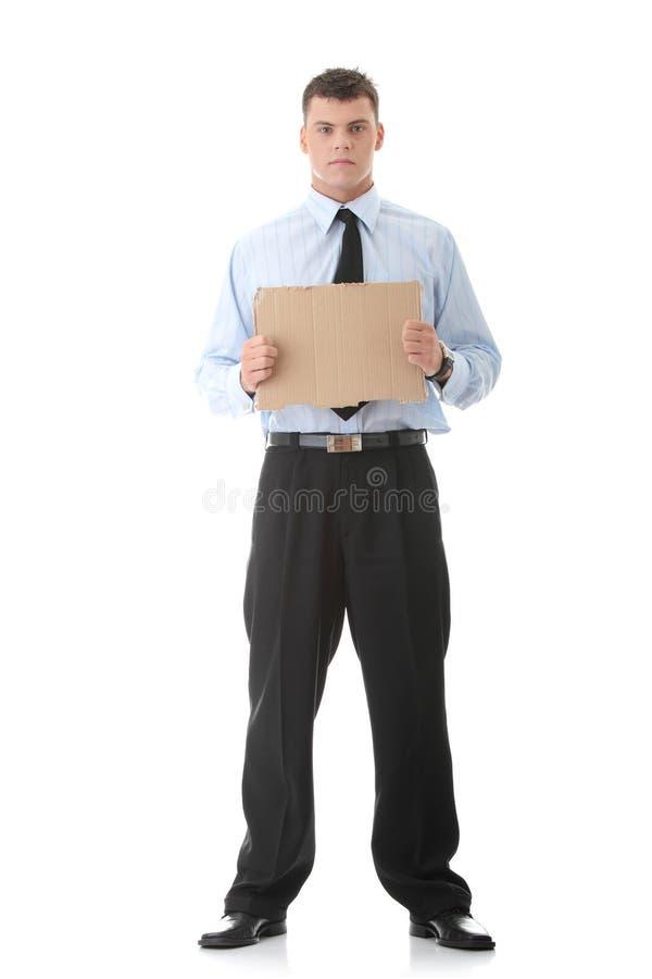 Arbeitslose lizenzfreies stockfoto
