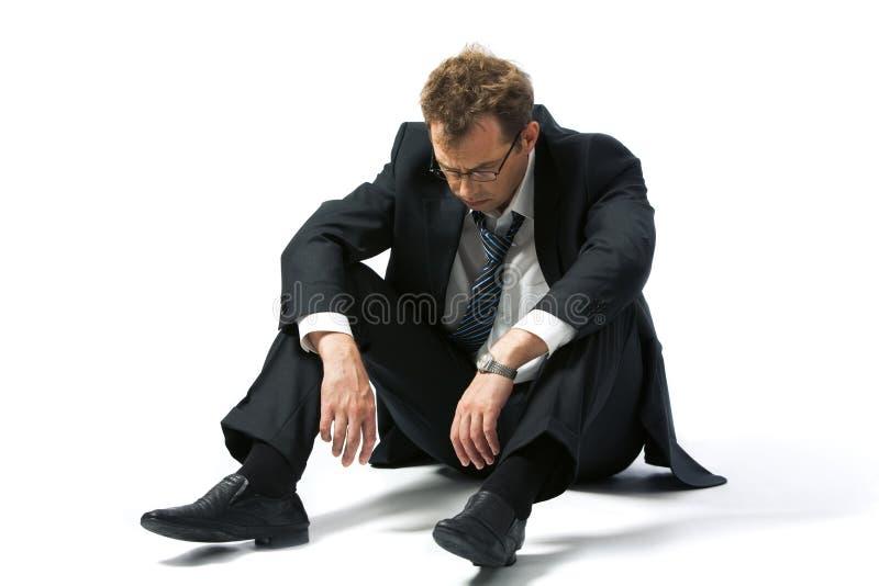 Arbeitsloser Mann lizenzfreies stockfoto