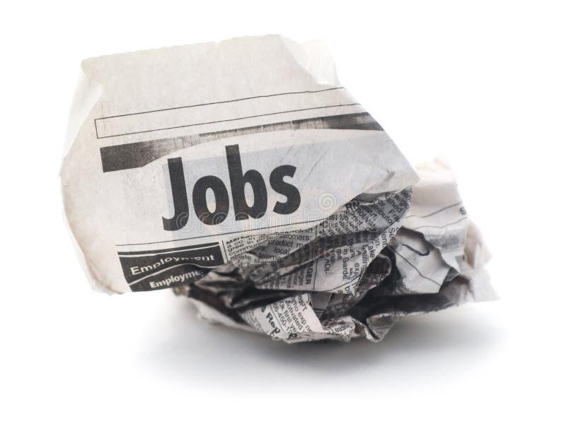 Arbeitsplatzverlust stockfotografie