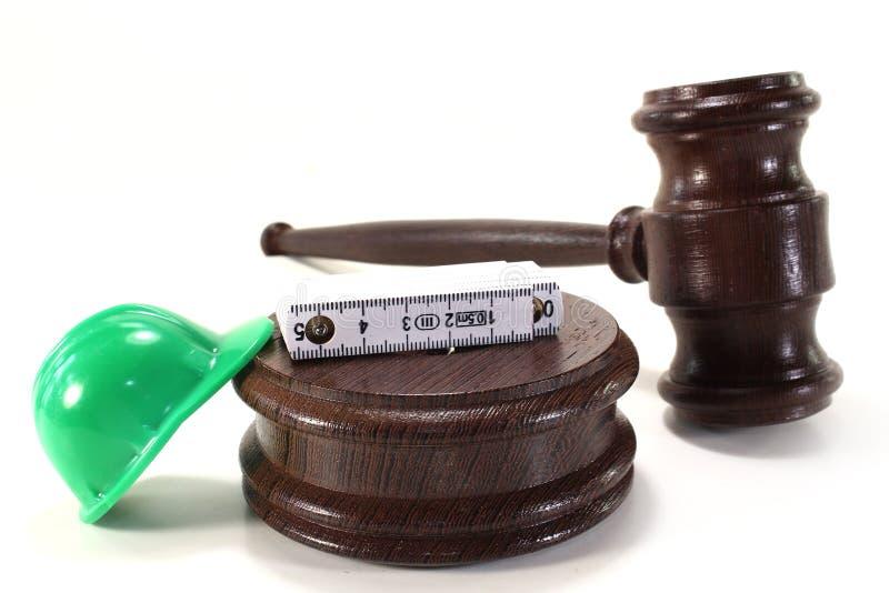 Arbeitsrecht lizenzfreie stockbilder