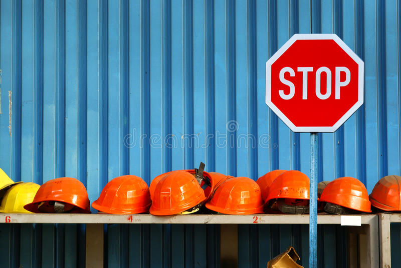 Arbeitsstreik - Arbeitslosigkeit lizenzfreie stockfotografie