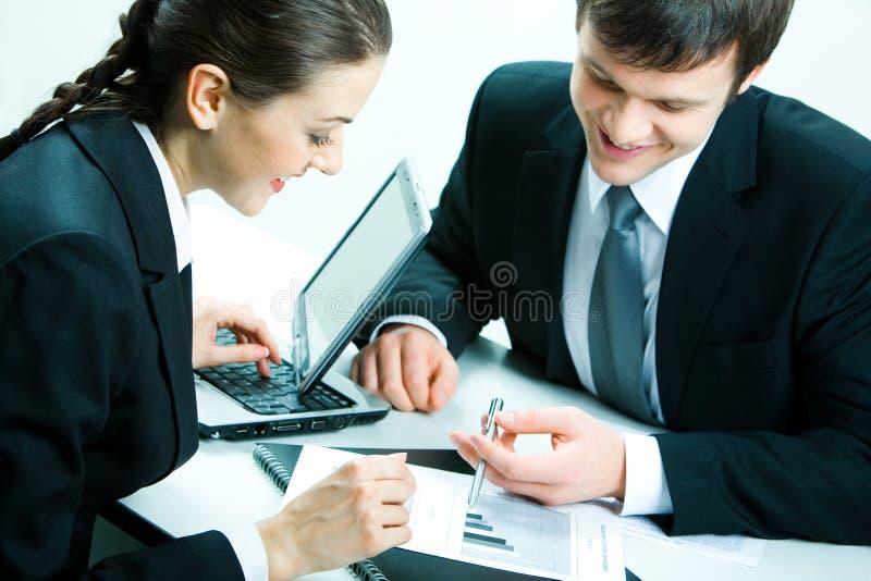 Arbeitsteam stockfoto