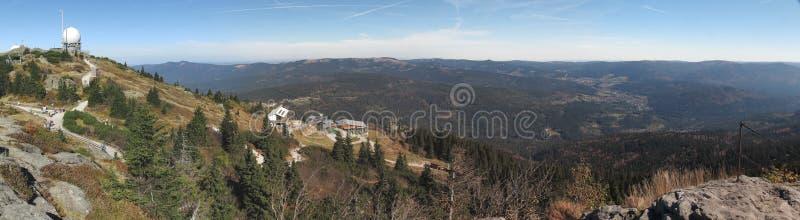 Arber mais bruto em Bayerischer Wald fotografia de stock