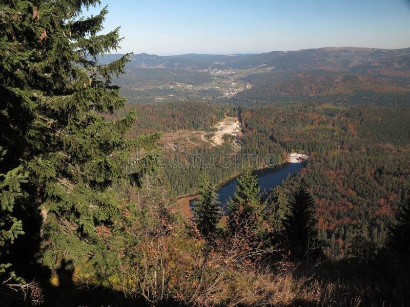 Arbersee mais bruto em Bayerischer Wald fotos de stock