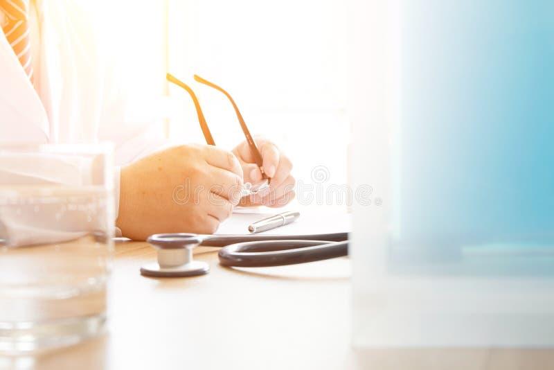 Arbeta för doktorer royaltyfri bild