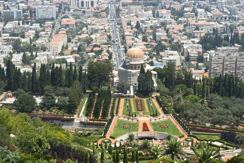 arbeta i trädgården haifa arkivfoton
