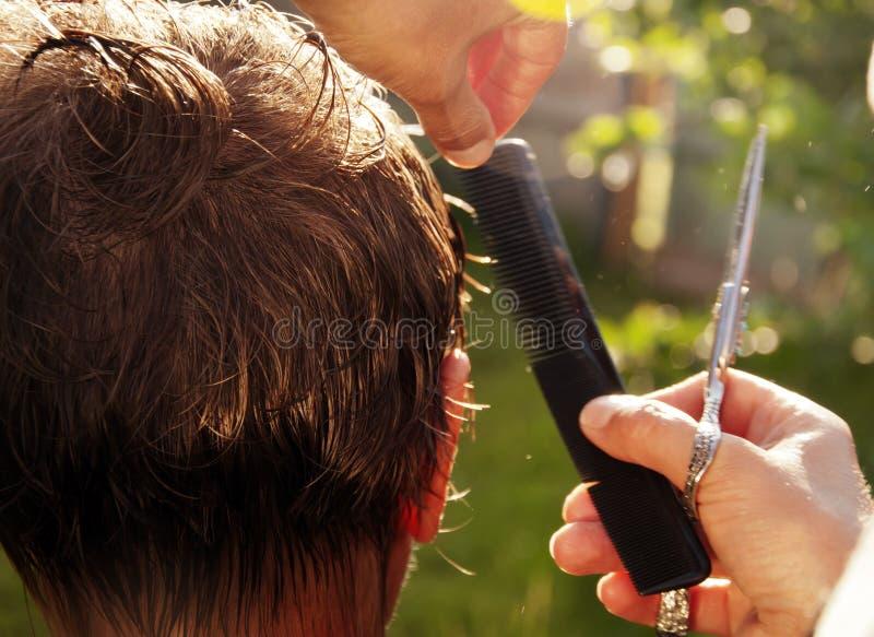 Download Arbete av frisören arkivfoto. Bild av omsorg, frisör - 78730694