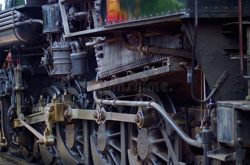 Arbeten för ångalokomotiv arkivfoton