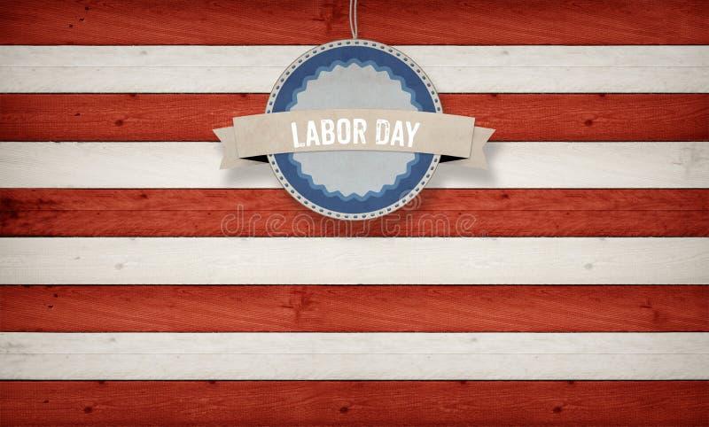 Arbets- dag på baner, fjärdedel av Juli, bakgrund, USA themed komp royaltyfri illustrationer