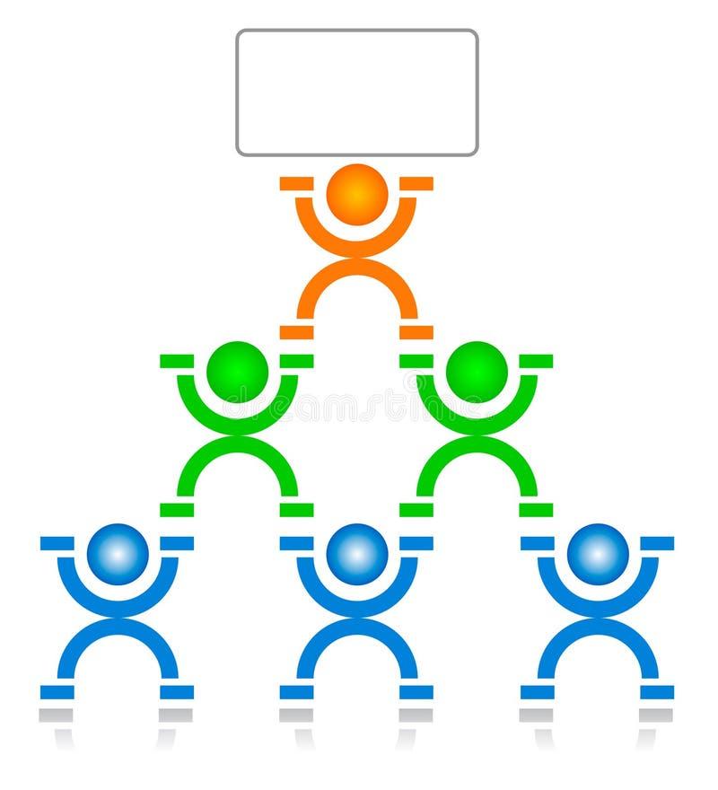 arbetsgrupp stock illustrationer