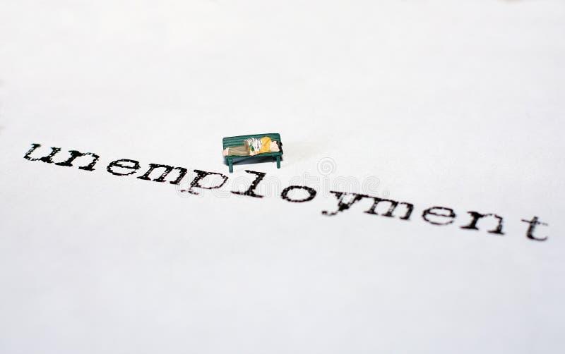 arbetslöshet royaltyfri foto