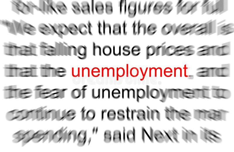 arbetslöshet arkivbild