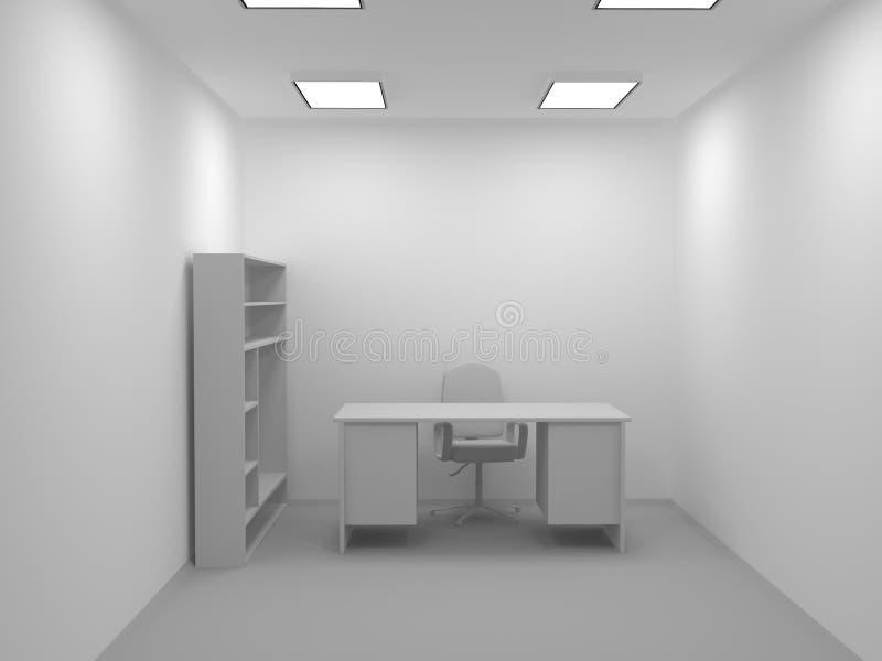 arbetsplats vektor illustrationer