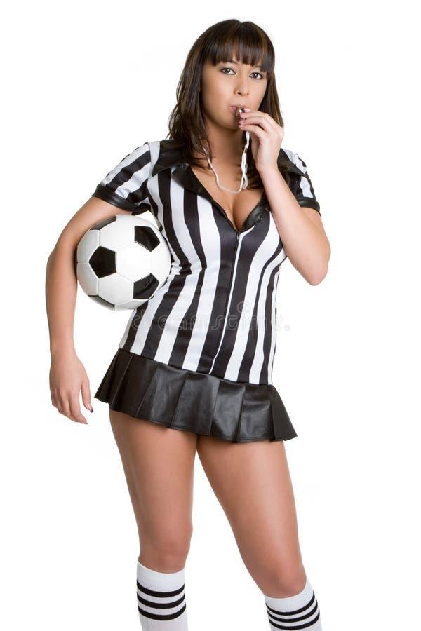 arbiter piłka nożna zdjęcia stock