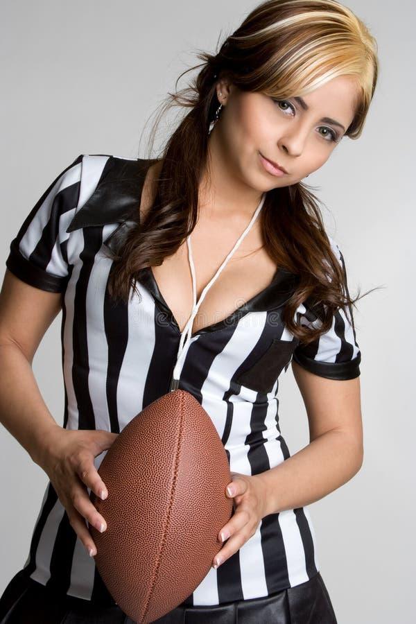 Arbitro messicano di gioco del calcio immagine stock libera da diritti