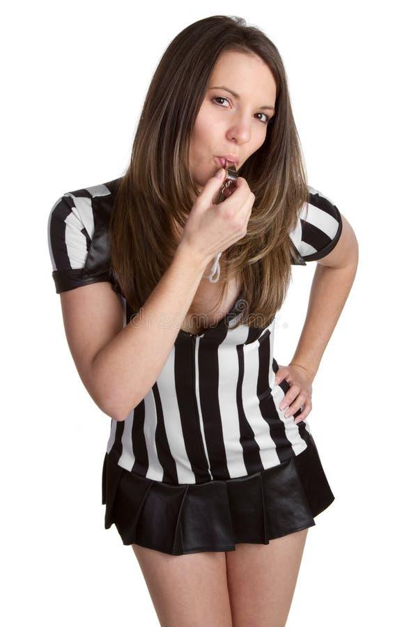 Arbitro sexy fotografia stock libera da diritti