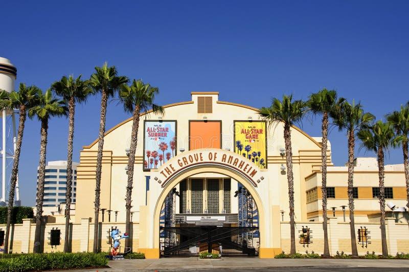 Arboleda de Anaheim imagenes de archivo