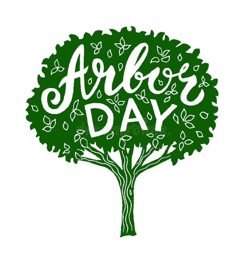 Arbor day stock illustration