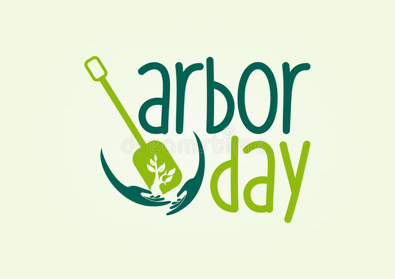 Arbor day stock illustration