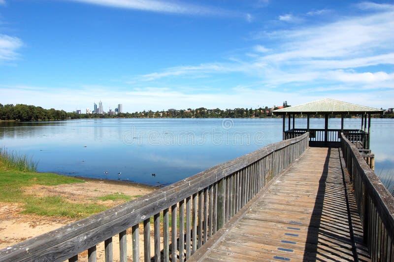 Download Arbor at the lake stock photo. Image of australia, perth - 23552436