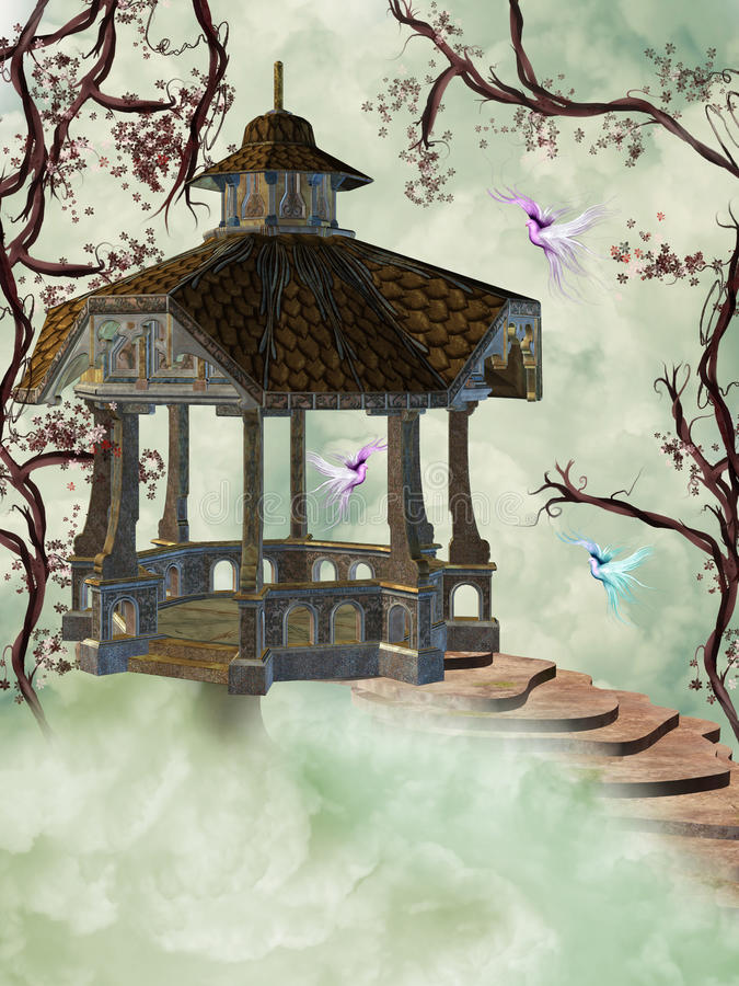 Download Arbor In The Sky Royalty Free Stock Images - Image: 18896159