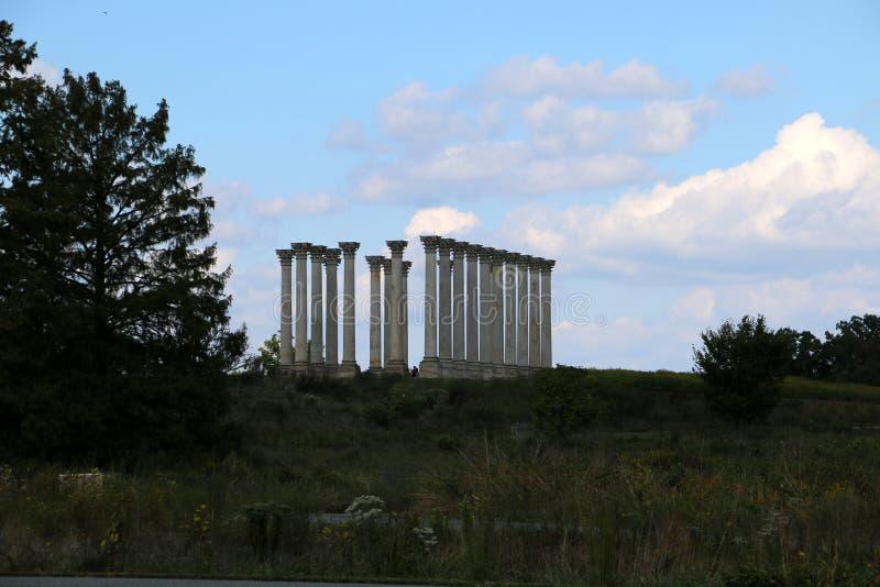 Arboreto nacional de Estados Unidos imagen de archivo