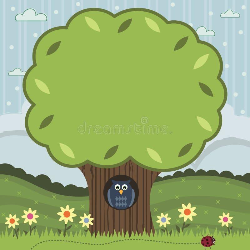 arbre illustration de vecteur