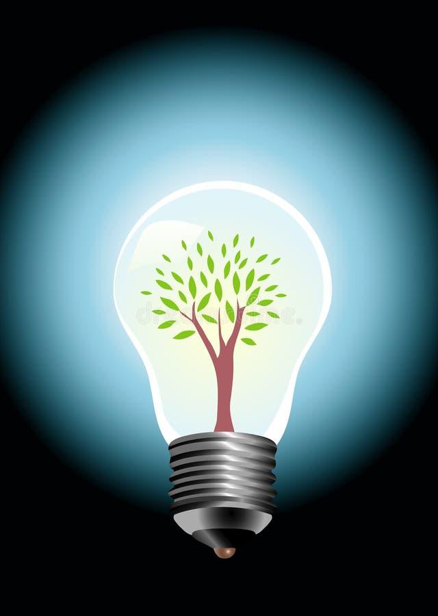 Arbre d'ampoule illustration stock