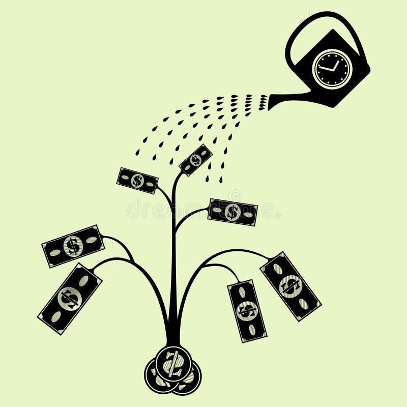 Arbre d'argent illustration libre de droits