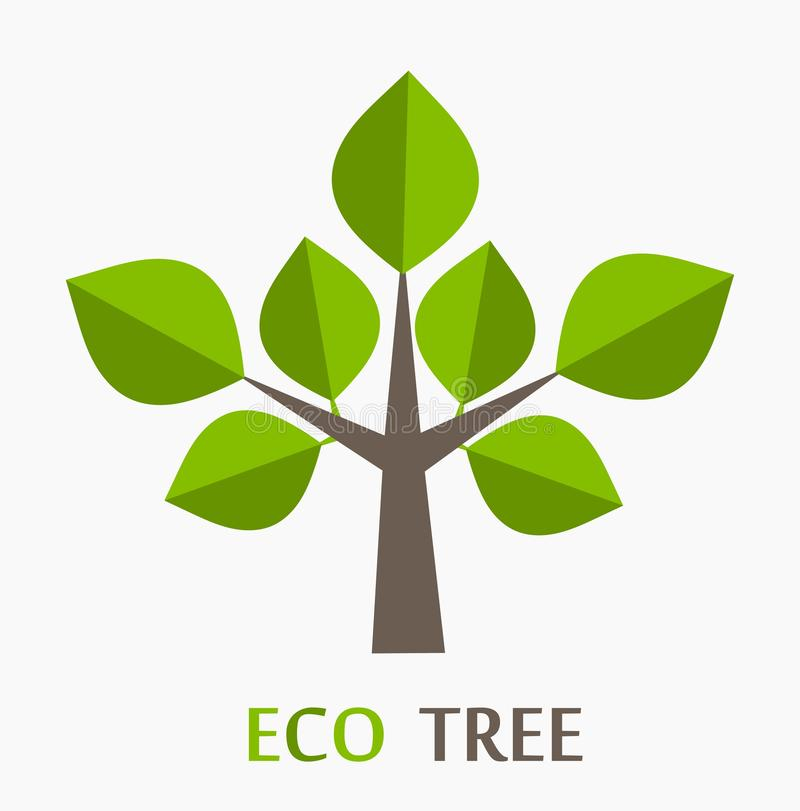 Arbre d'Eco illustration stock