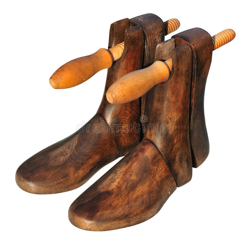 Arbre de chaussure de cru images stock